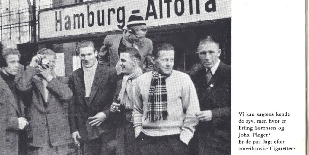 førsteholdsspillere i London 1946.jpg